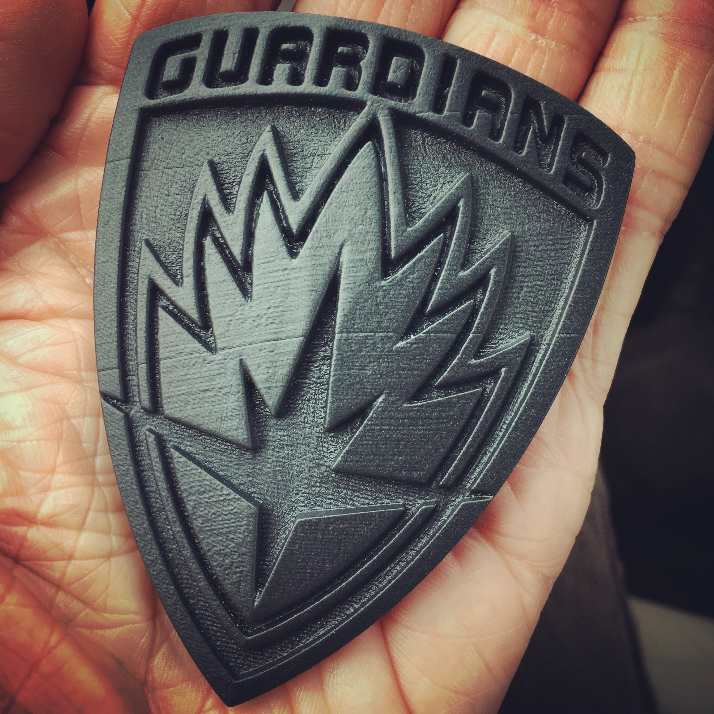 3D Resin Print of Guardians of the Galaxy Badge