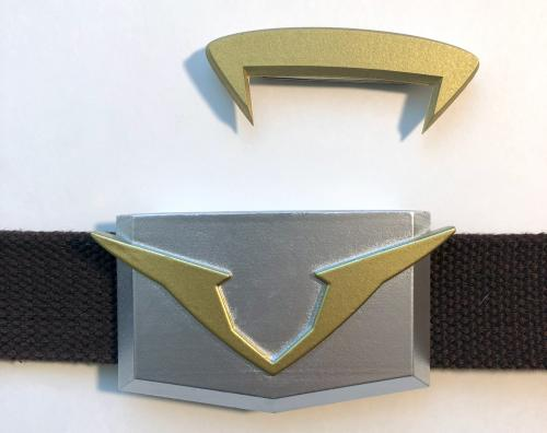 Voltron Garrison Badge and Belt Buckle